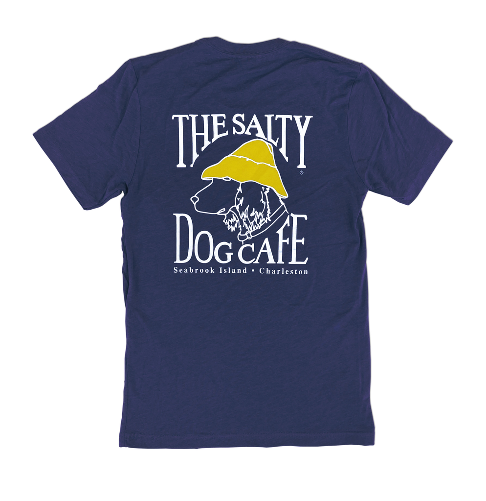 T-Shirt Bohicket Tri-blend Short Sleeve in Navy