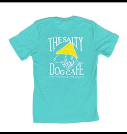 T-Shirt Bohicket Tri-blend Short Sleeve in Sea Green