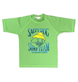 Specialty Youth Rash Guard Short Sleeve in LIme