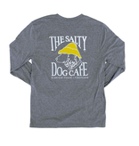 T-Shirt Bohicket Triblend Long Sleeve in Premium Heather