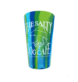 Product Bohicket SiliPint Silicone Pint Glass in Sea Swirl