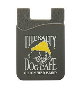 Salty Dog Mobile Pocket in Gray