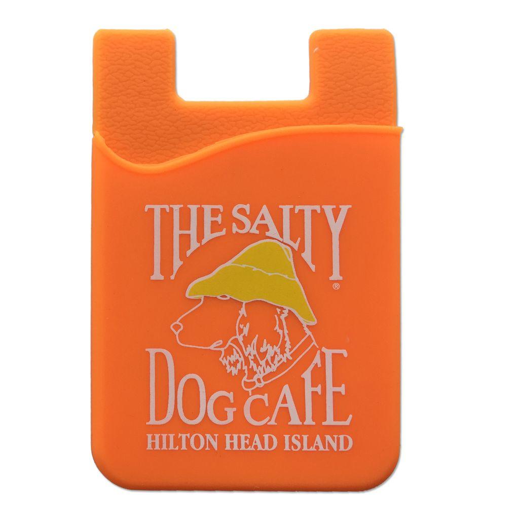 Salty Dog Mobile Pocket in Orange