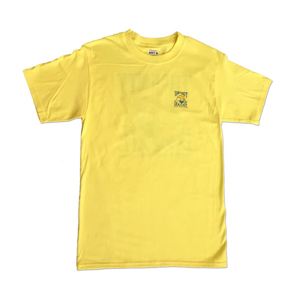 Hanes Hanes Beefy Short Sleeve in Yellow