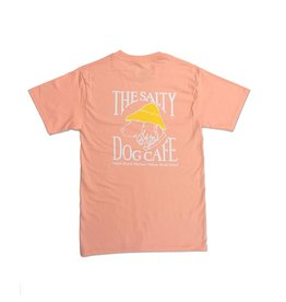 Hanes Hanes Beefy Short Sleeve in Candy Orange