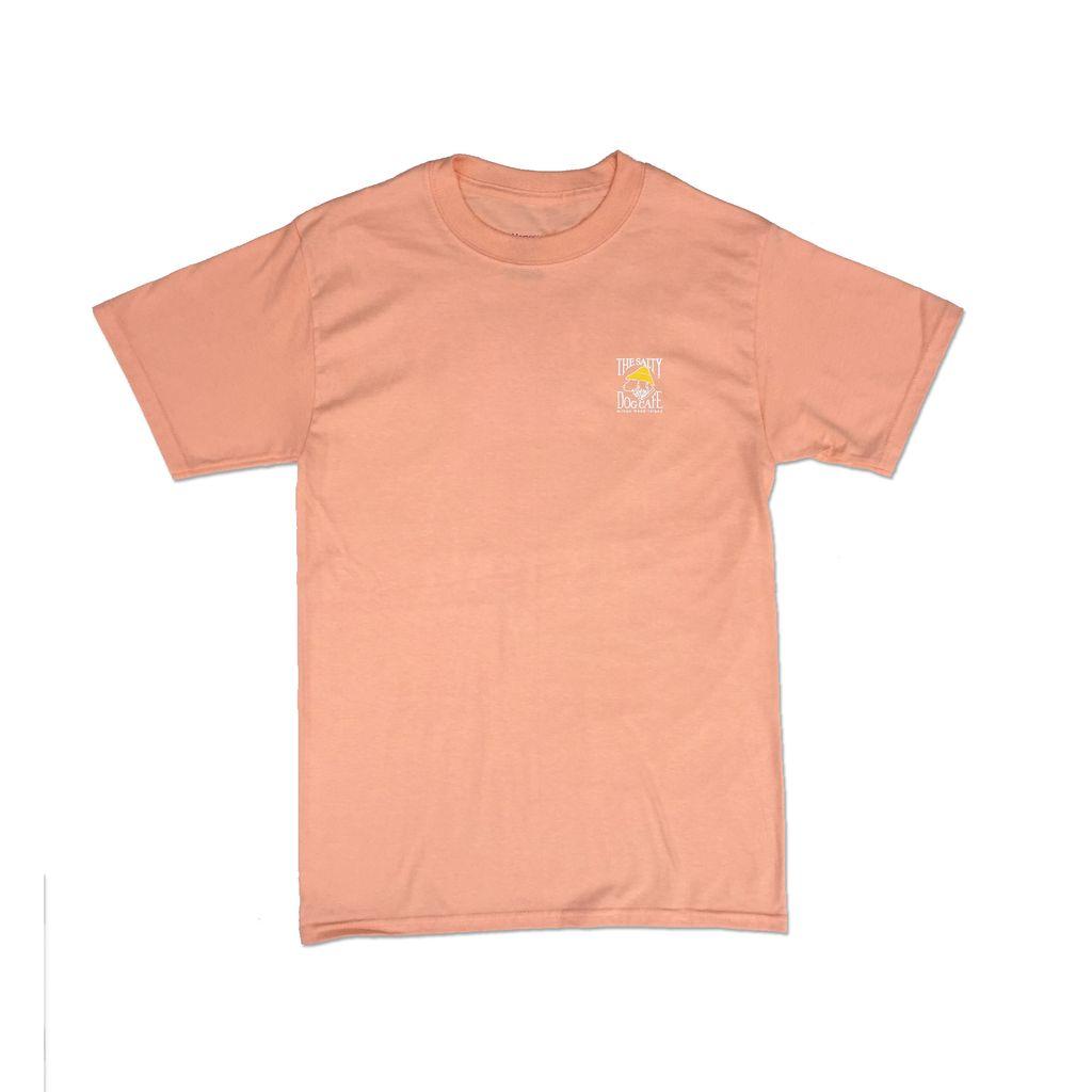 Hanes Hanes Beefy Short Sleeve in Candy Orange