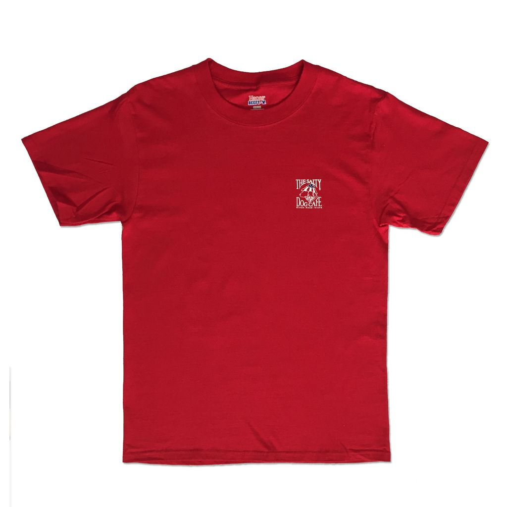 Hanes Patriot Dog Short Sleeve in Red