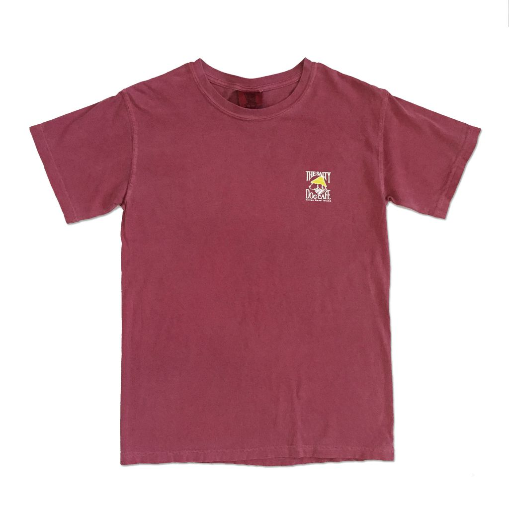 Comfort Colors Comfort Colors® Short Sleeve Tee in Crimson