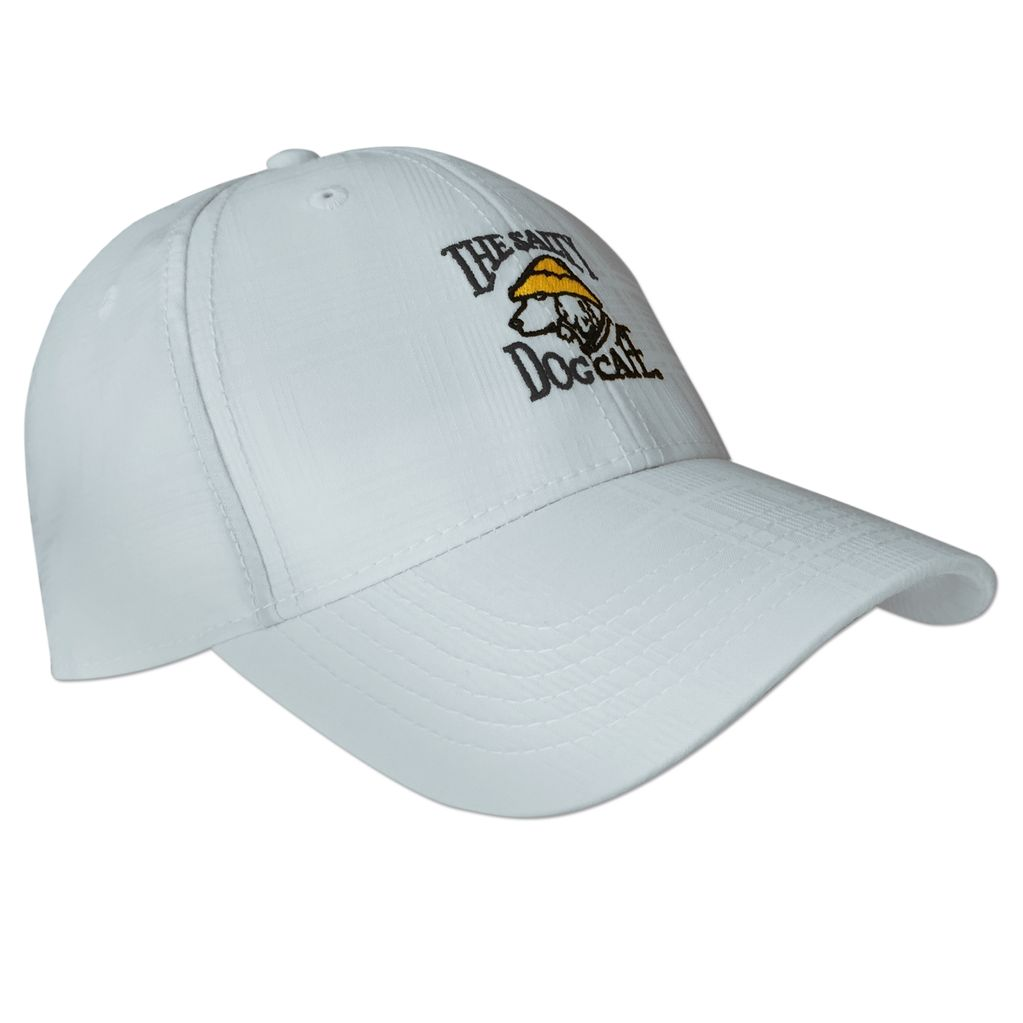 AHead Textured Plaid Tech Hat in White