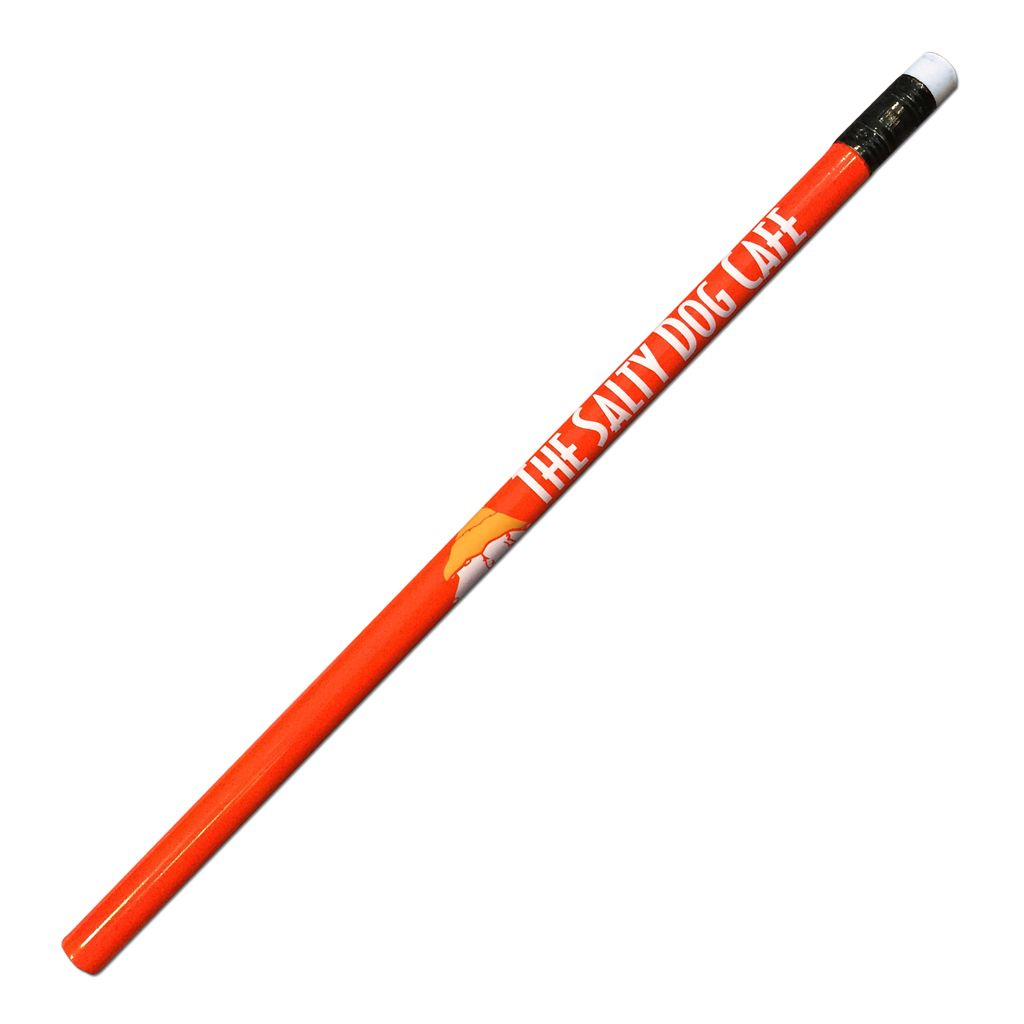 Salty Dog Pencil in Sunset Orange