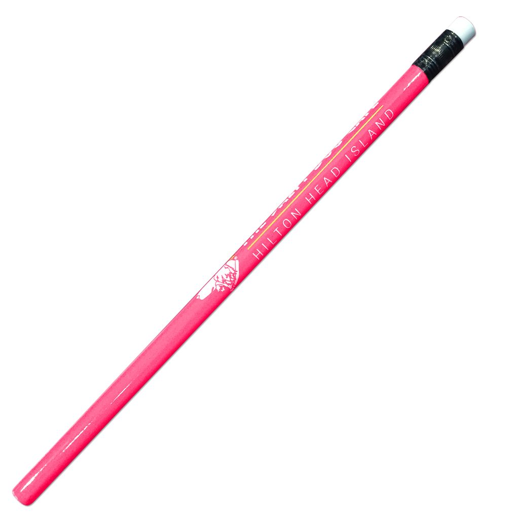 Salty Dog Pencil in Flamingo Pink