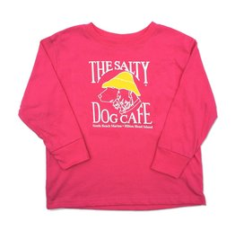 LAT Apparel Toddler Long Sleeve in Hot Pink