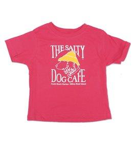 LAT Apparel Toddler Short Sleeve in Hot Pink