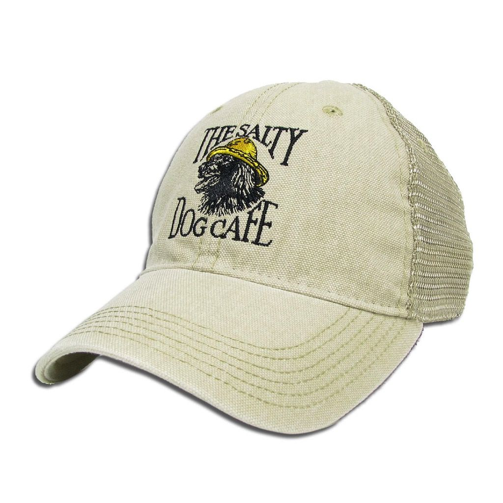 Legacy Dashboard Trucker Vintage Jake Hat in Stone