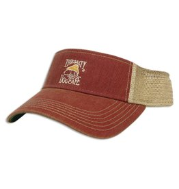 AHead Old Favorite Visor in Cardinal