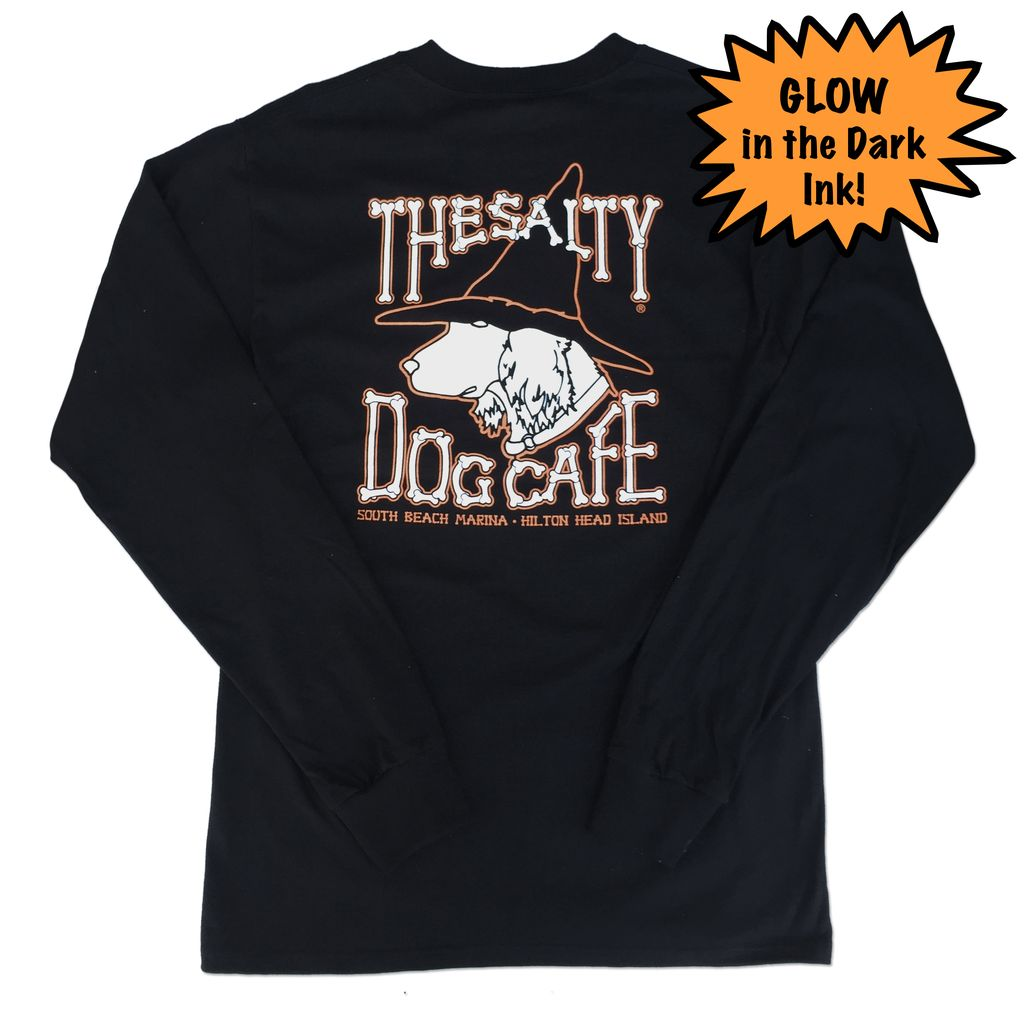 Hanes Witch Dog Long Sleeve T-Shirt