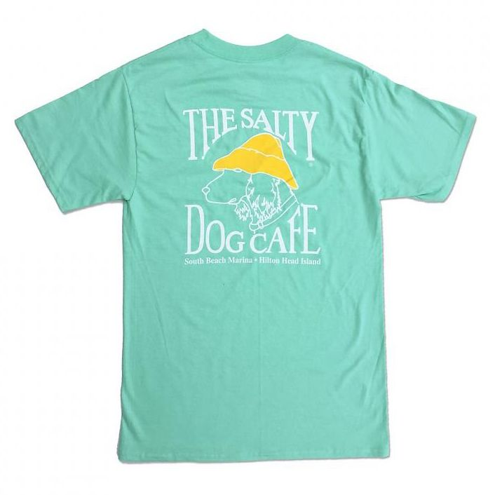 a7e3dfe5 Hanes Hanes Beefy Short Sleeve in Clean Mint - The Salty Dog Inc