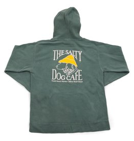 Sweatshirt Comfort Colors® Hooded Sweatshirt in Light Green