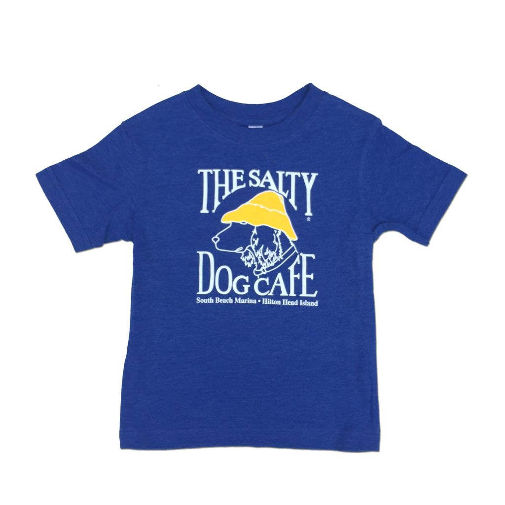 LAT Apparel Toddler Short Sleeve in Vintage Royal