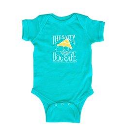 Infant Romper in Caribbean