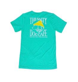 T-Shirt Tri-Blend Short Sleeve in Sea Green