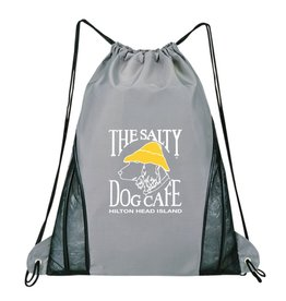 Product Drawstring Bag in Grey