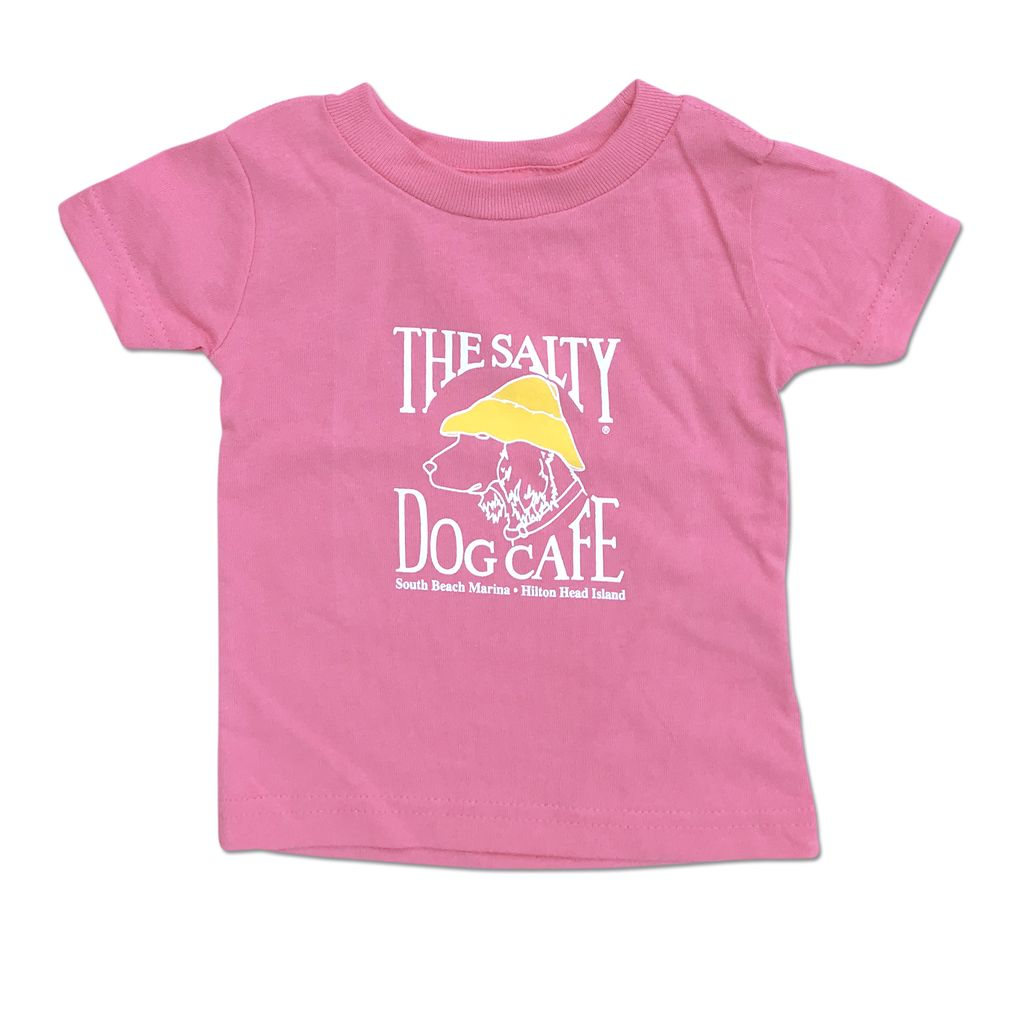 T-Shirt Infant Tee in Raspberry