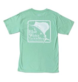 Hanes Blue Water Short Sleeve in Clean Mint