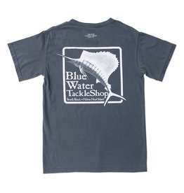 Bluewater Blue Water Comfort Colors Tee in Denim