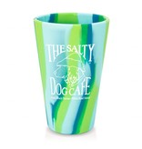 Product SiliPint Silicone Pint Glass in Sea Swirl