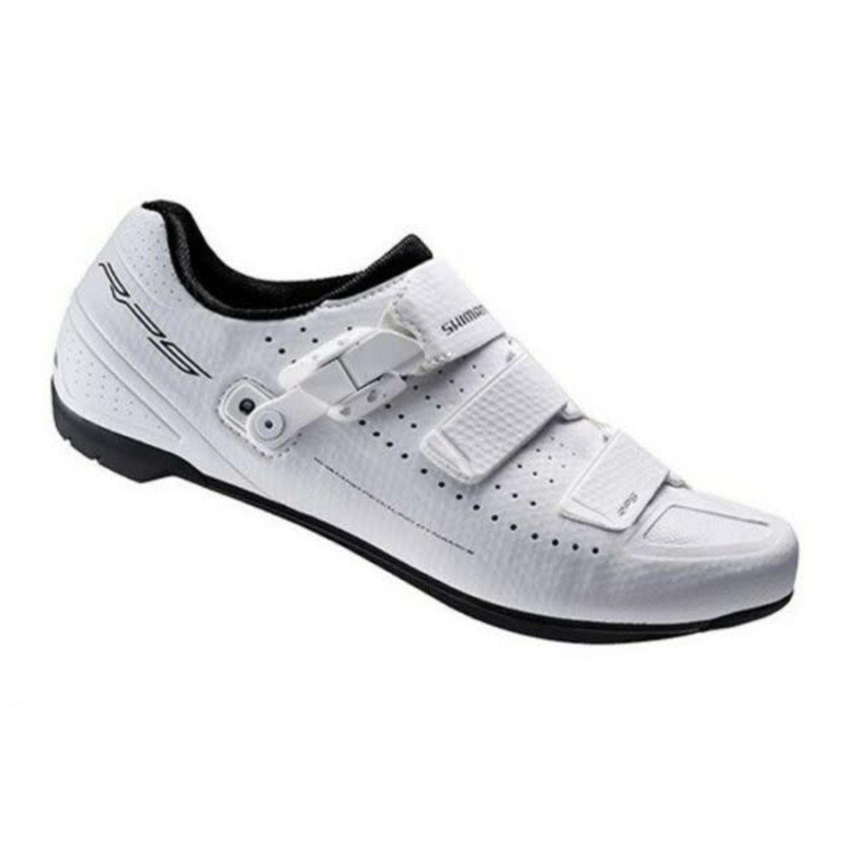 Shimano Shimano RP9 SPD SL Road Cycling Shoes  White 44