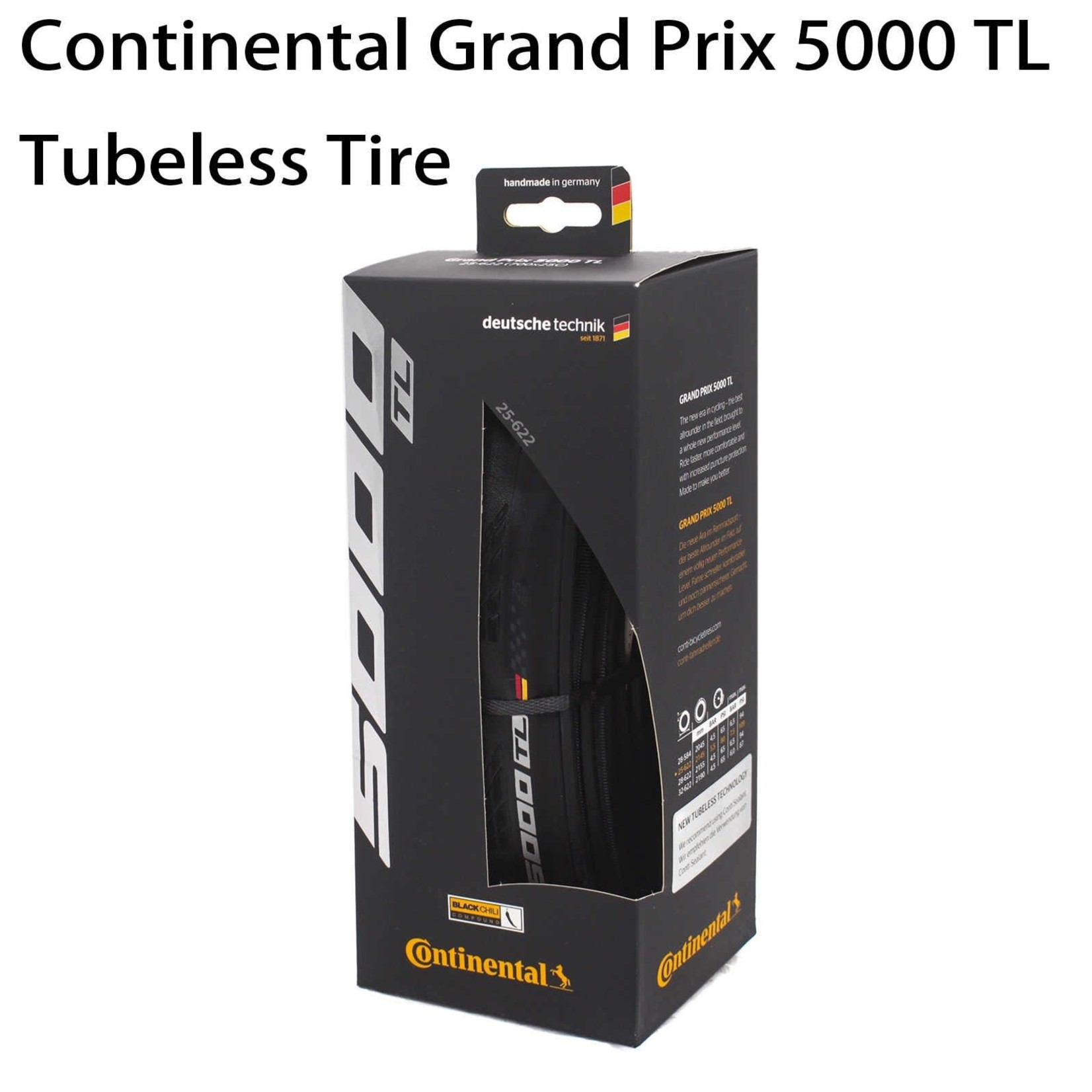 Continental Continental Grand Prix 5000 Tubeless TL