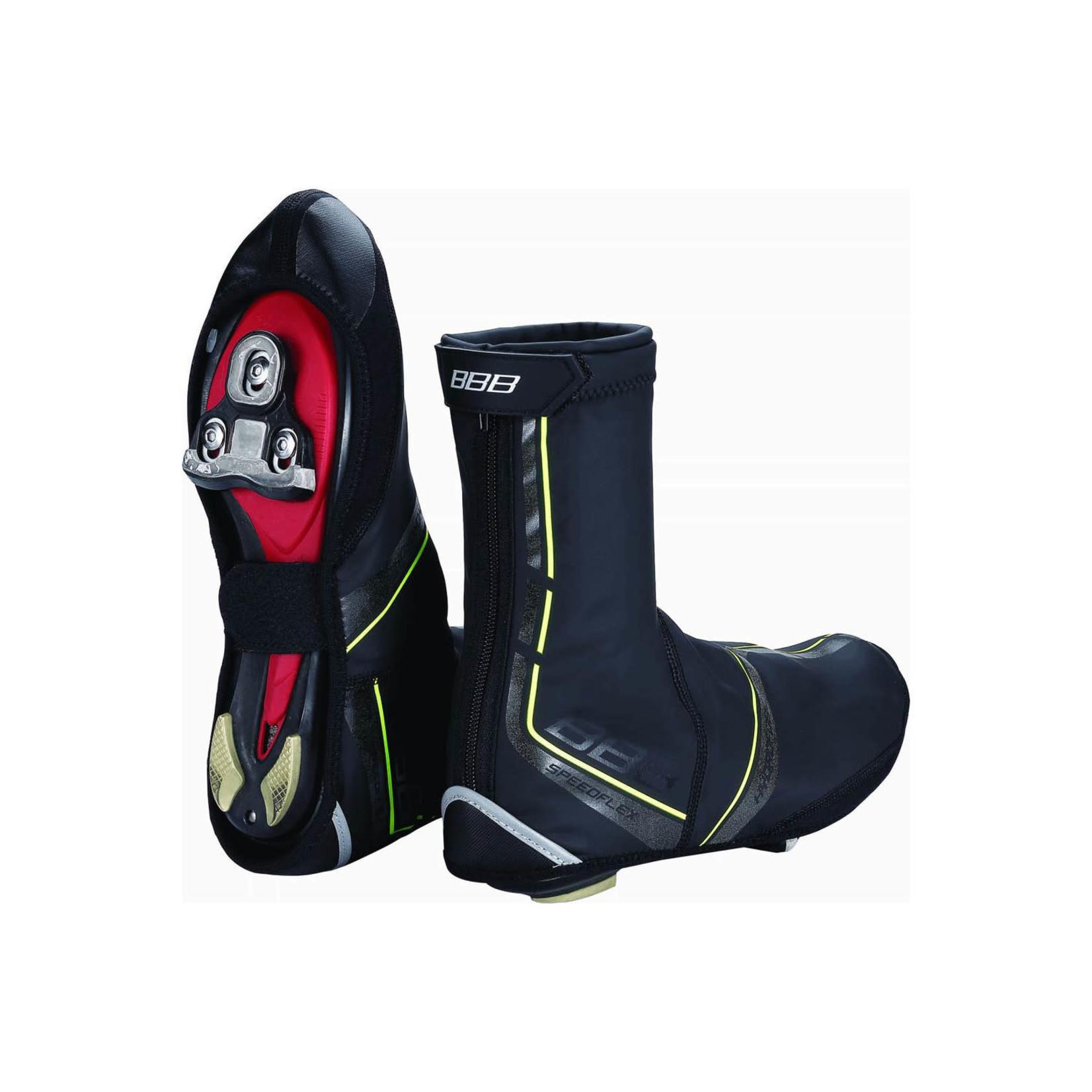 BBB BBB Shoe Covers Speedflex Blk/Neon 45-46