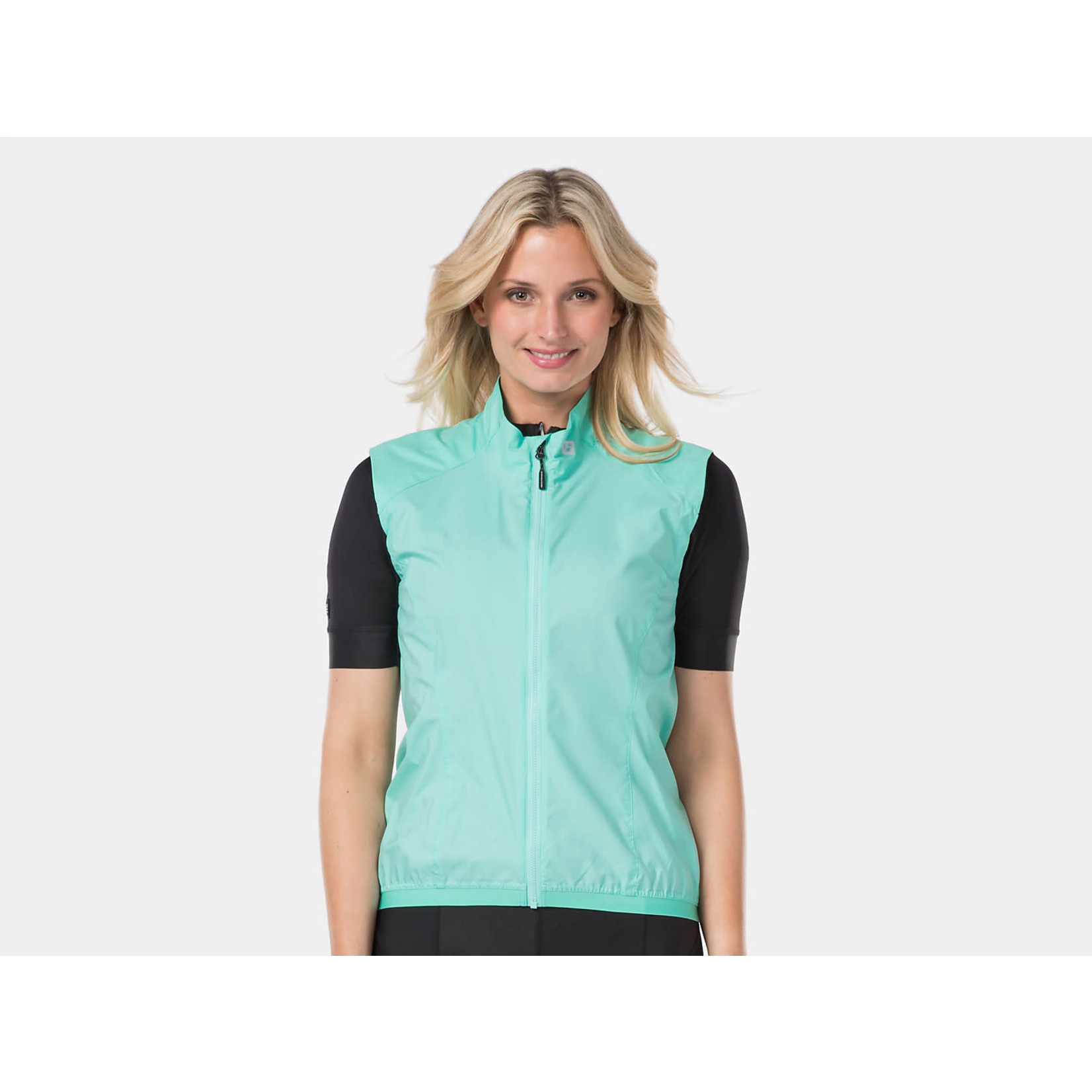 Bontrager Circuit Women's Windshell Cycling Vest, Miami Green