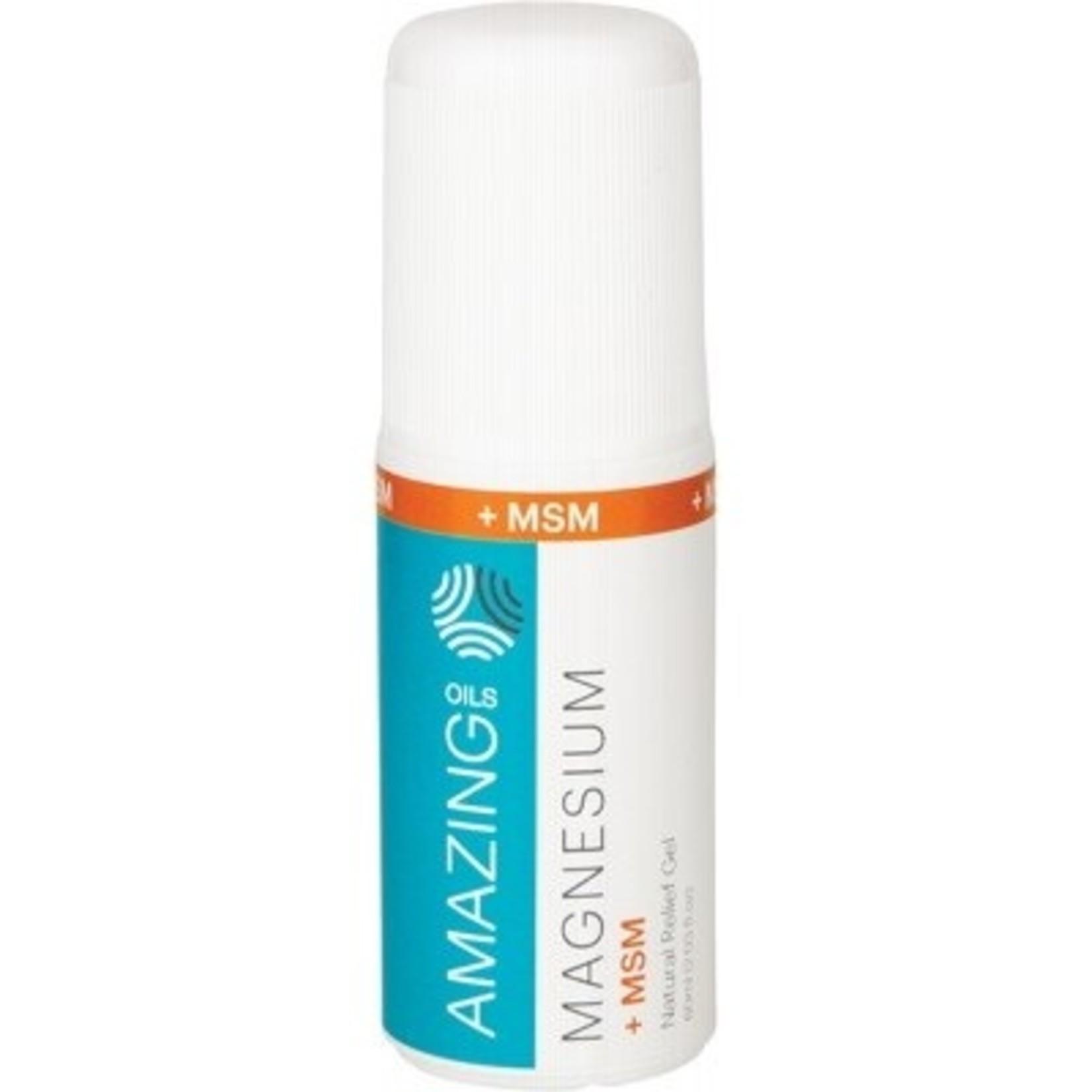 Magnesium + MSM roll on gel 60ml