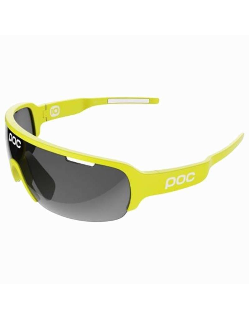 POC POC DO Half Blade - UNOBTANIUM YELLOW - BLACK LENSES - GLASSES
