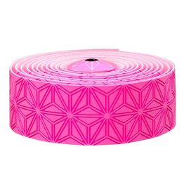 Supacaz Super Sticky Kush Bar Tape Neon Pink Print