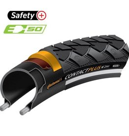 Continental Continental Contact Plus Clincher Reflex Tire Black 32-622 700x32