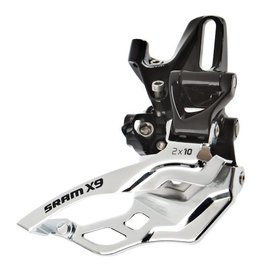SRAM X9 2x10 High Direct Mount Dual Pull Front Derailleur