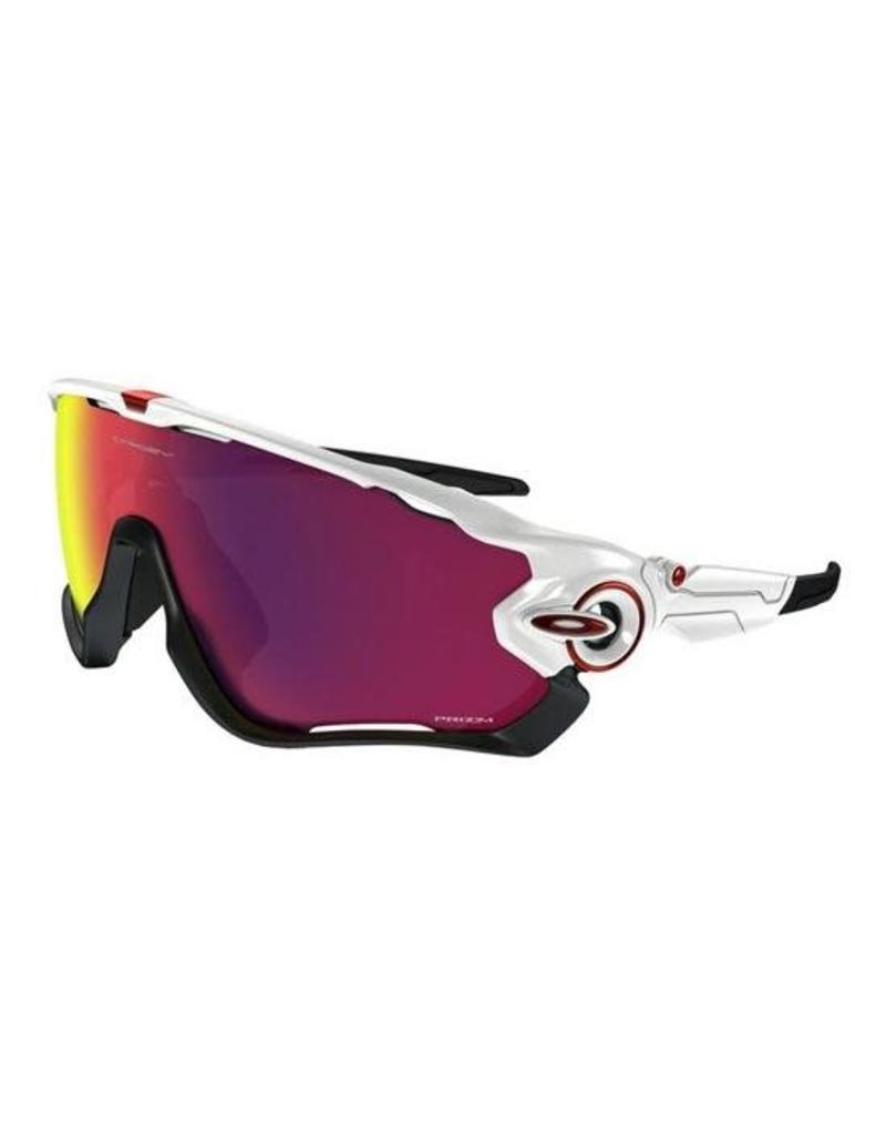 42b4b43d80d Oakley OAKLEY Jawbreaker polished white black prizm road Road  P - Two  Monkeys Cycling