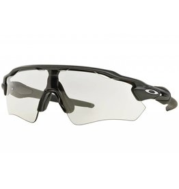 6eb31ef277d Oakley OAKLEY Radar EV Path Steel w Clear PHOTOCHROMIC Black