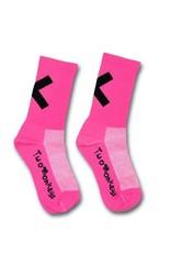 TWO MONKEYS X Sock Neon Pink