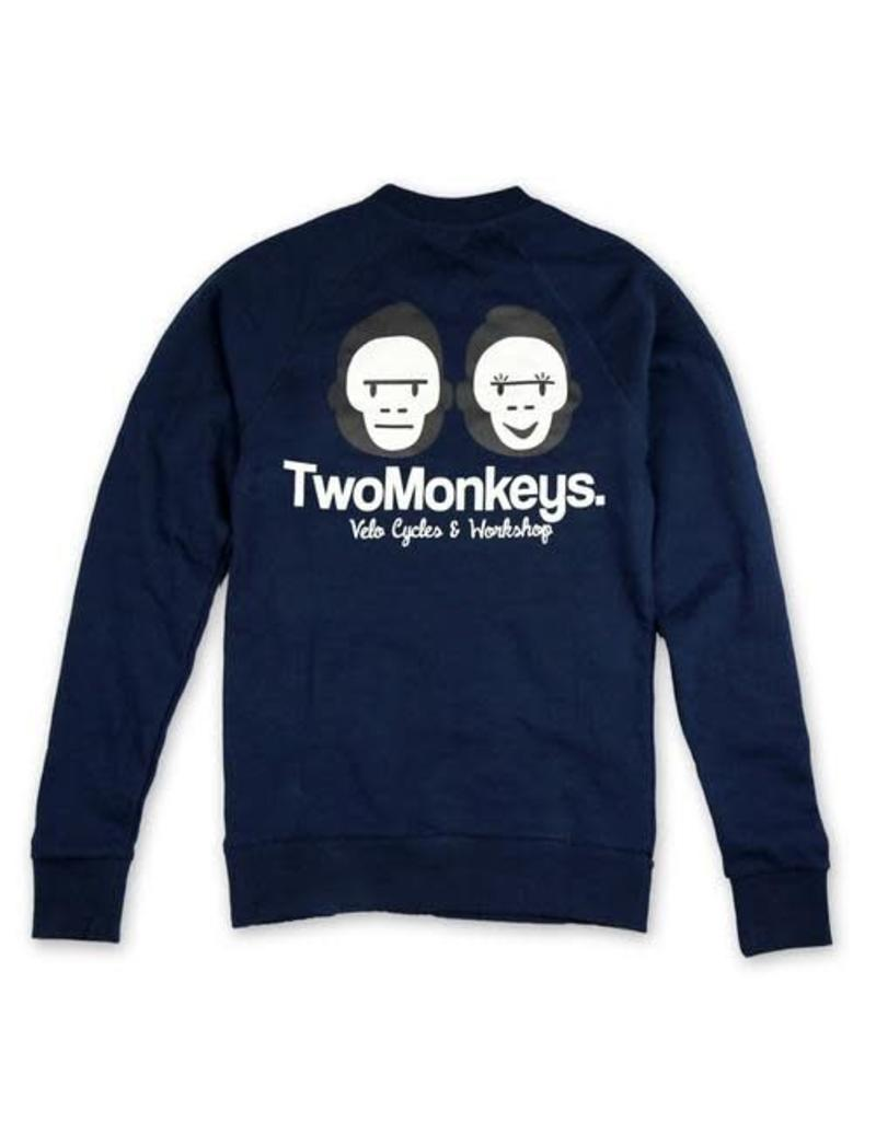 Two Monkeys Team Crew Jumper NAVY