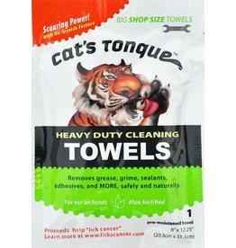 Monkeys in the Workshop CATS TONGUE 1 Towel
