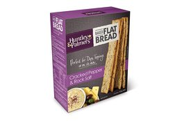 Huntley & Palmers Huntley & Palmers Flat Bread Cracked Pepper & Rock Salt 125g