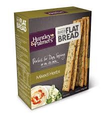 Huntley & Palmers Huntley & Palmers Flat Bread Mixed Herb 125g