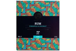Chocolate Tree Chocolate Tree Rum Pineapple Cocounut 75% 80g