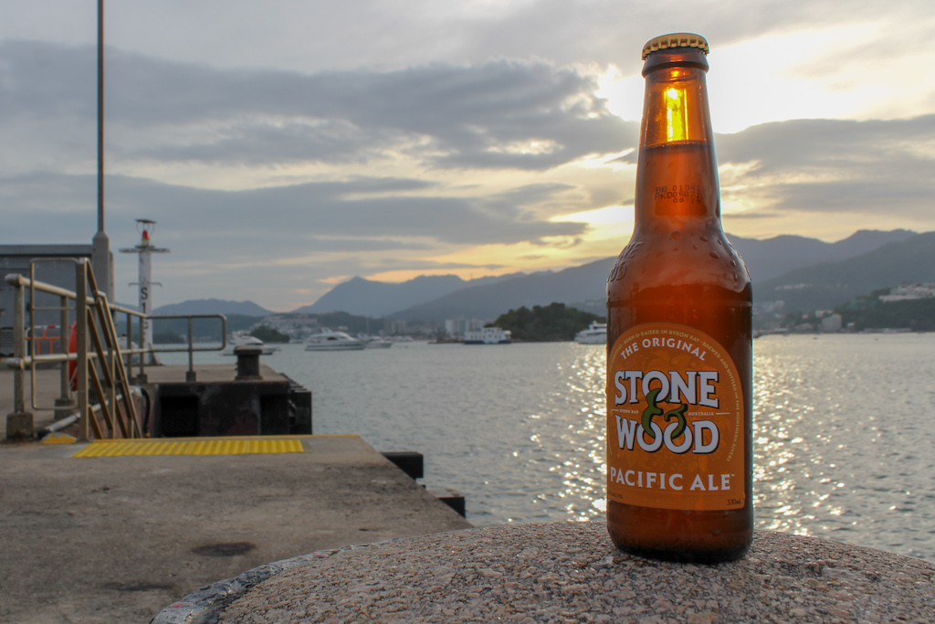 tso wo hang pier and a stone and wood pacific ale