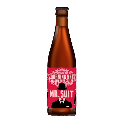 Yeastie Boys Yeastie Boys Collab w/ Burning Sky Mr Suit Sour Ale