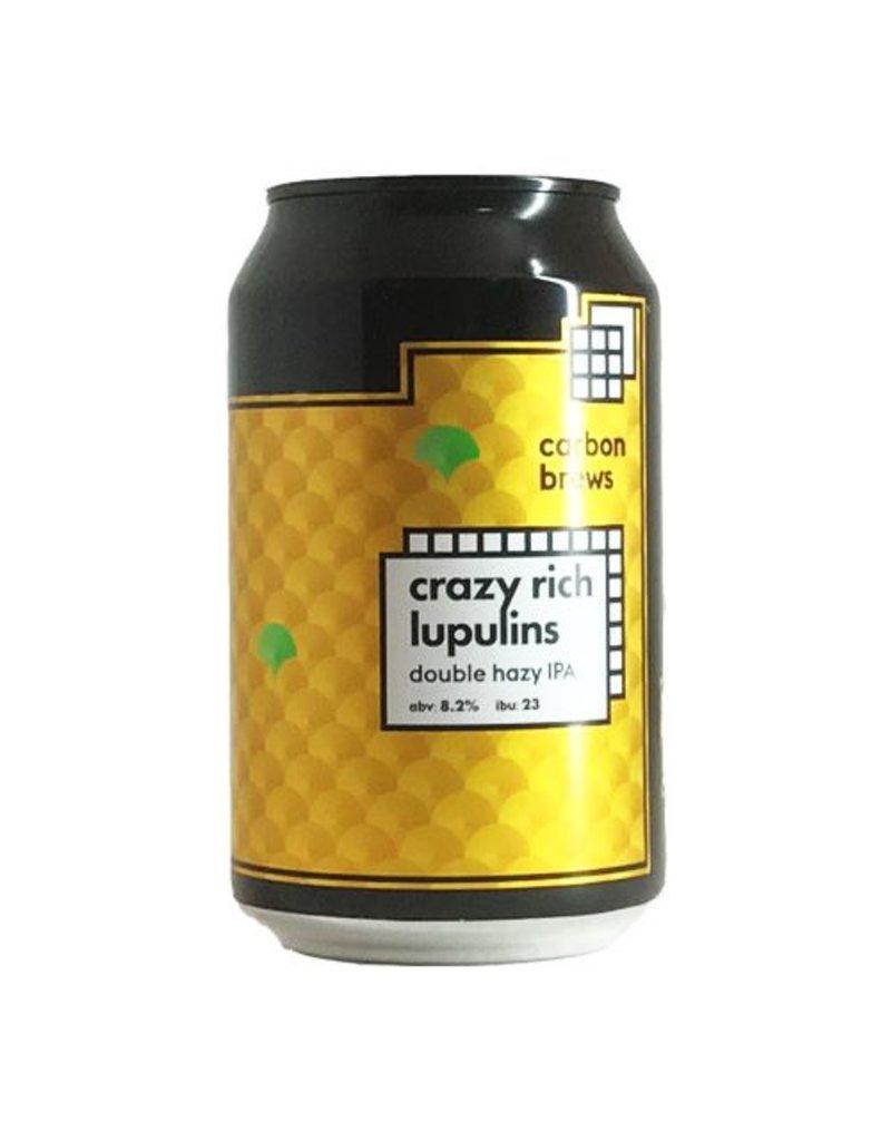 Carbon Brews Carbon Brews Crazy Rich Lupulins Double Hazy IPA